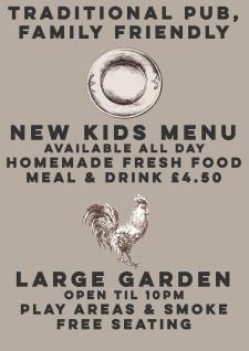 kids menu ringwood play area
