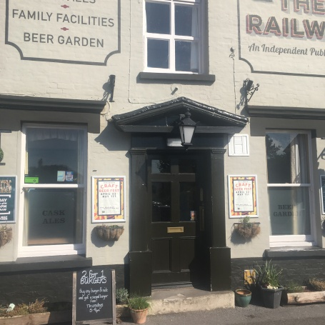 Railway Craft Beer pub and kitchen unspoilt new forest gem
