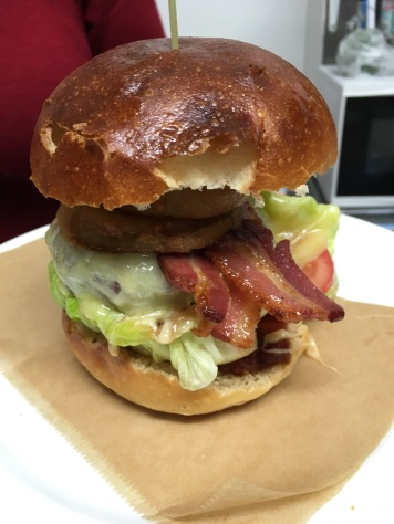 The Full Railway- Best Burger in the New Forest
