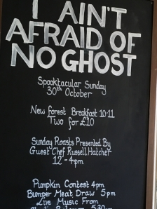 Halloween family funday at The Railway an award winning pub and Kitchen in The New Forest and Ringwood