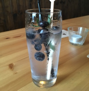 Craft hand mixed Gin and Tonic using Half hitch Gin at The Railway Ringwood