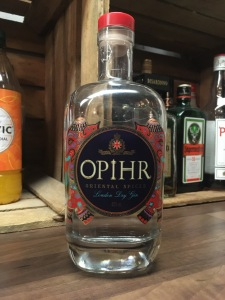 Gin Bar Ringwood New Forest serving Ophir Oriental Spiced