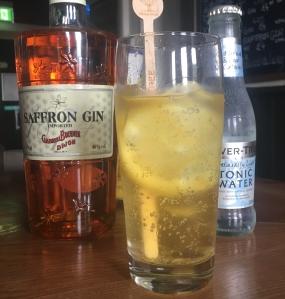 The Railway Craft Gin Pub- Gabriel Boudier Saffron Gin and Tonic