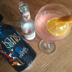King of Soho Aromatic Fevertree Gin and Tonic- Craft Pub Ringwood Railway